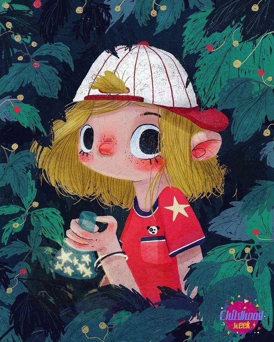 超可爱小王子插画欣赏