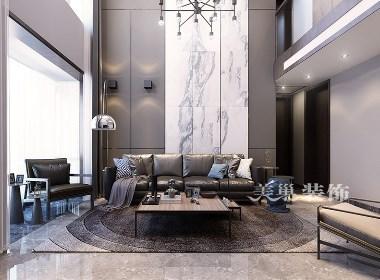 一江弘城复式200现代简约风格别墅装修案例欣赏