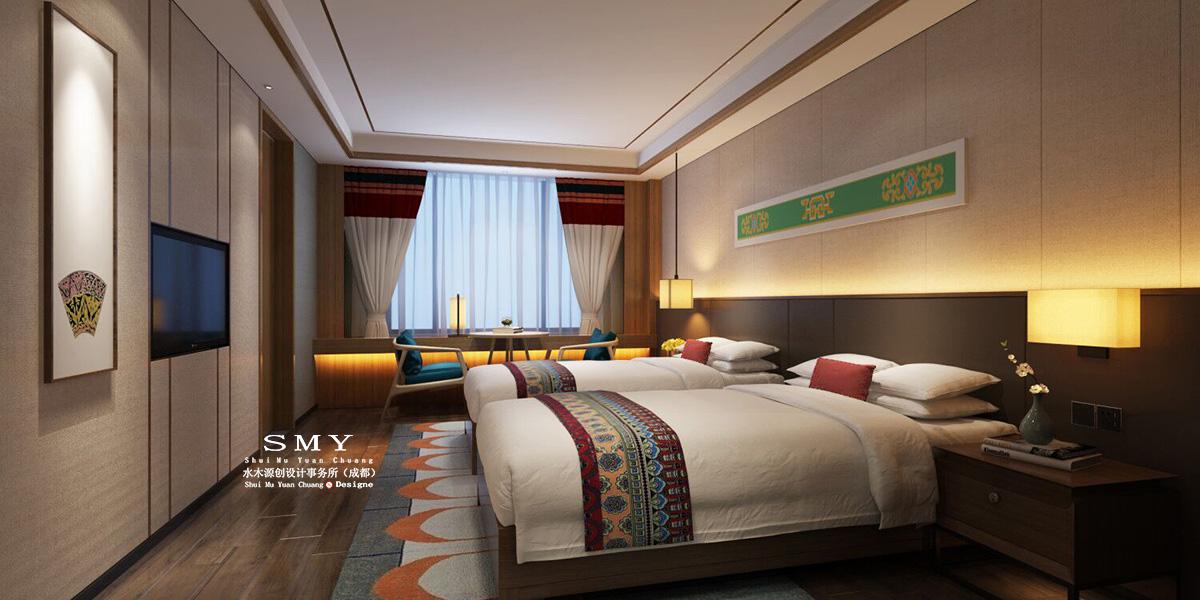 甘孜州藏式主题酒店设计方案——水木源创设计