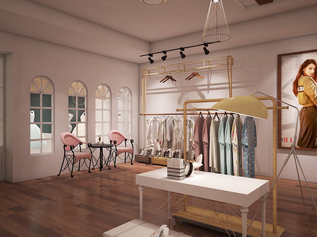 【麦田里的守望者】-常州服装店设计 常州服装店装修