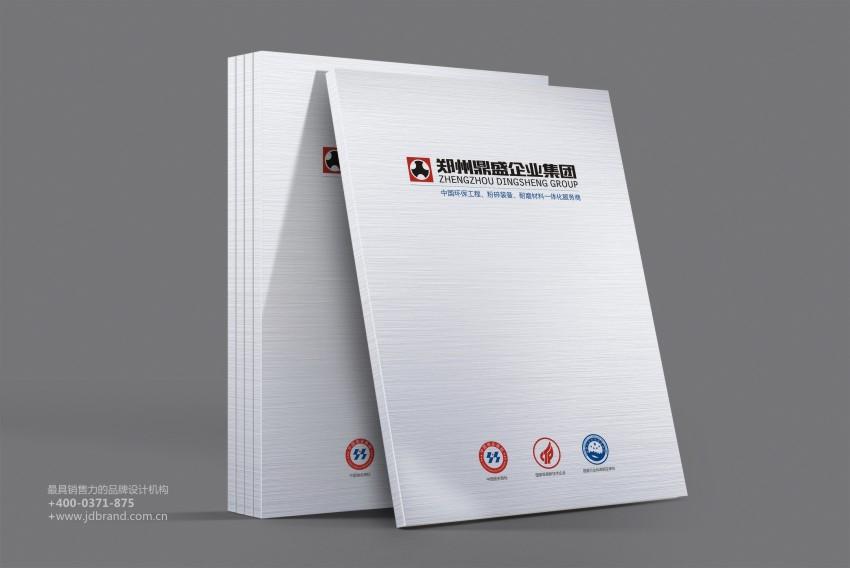 鼎盛企业集团形象画册及产品画册设计