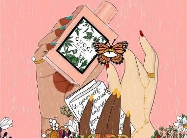 香水插画欣赏