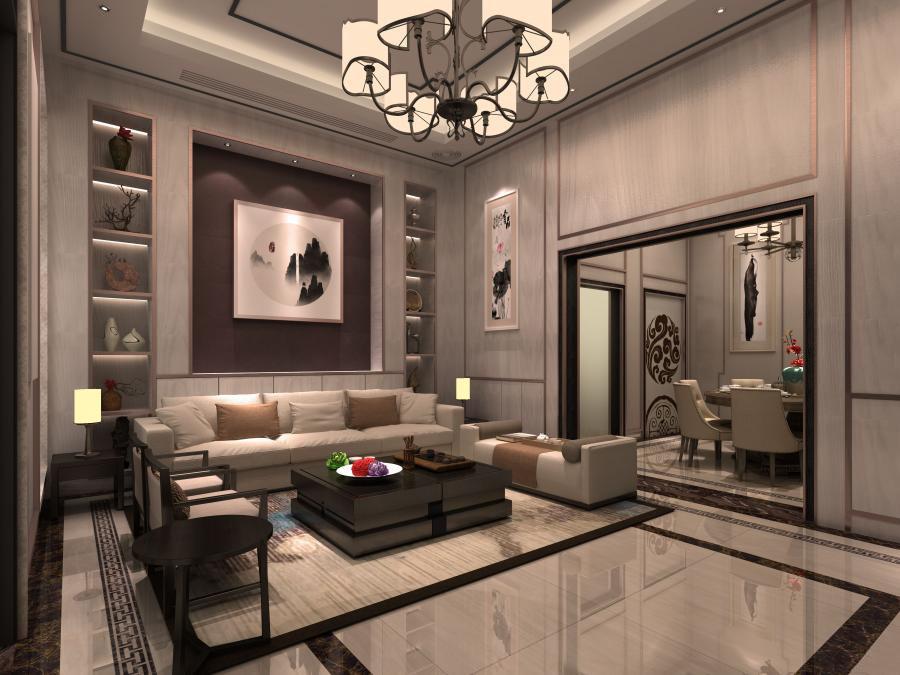 郑州房屋设计图,经济型别墅,别墅设计案例,思念果岭山水别墅