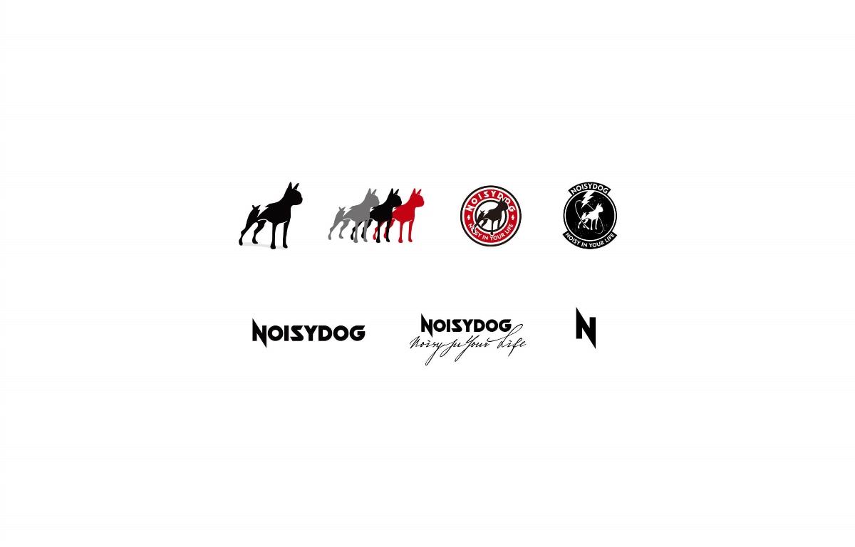 MOOMAD魔美设计 NOISYDOG·服装品牌及整体视觉设计
