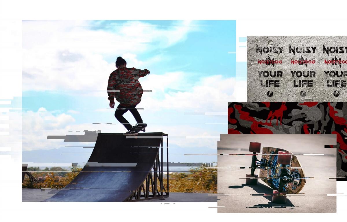 MOOMAD魔美设计|NOISYDOG·服装品牌及整体视觉设计