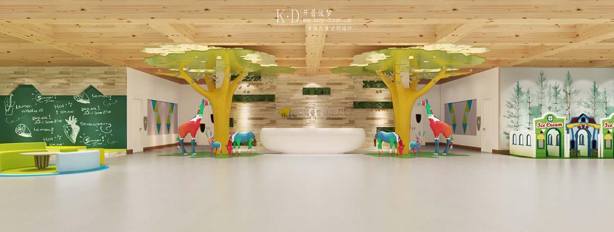 海丰福施恩宝国际幼儿园设计