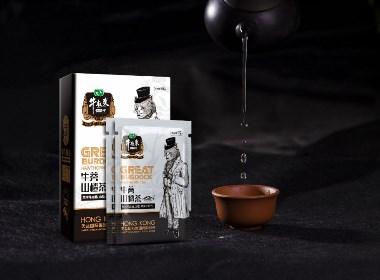 牛蒡山楂茶包装设计