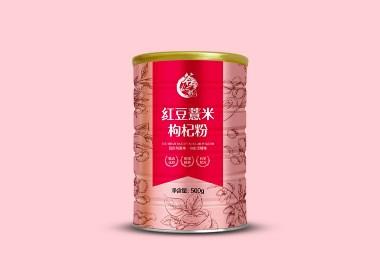 五谷杂粮代餐粉包装