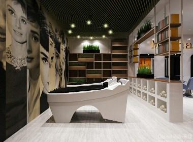【摩卡美发】-常州美发店设计|常州美发店装修