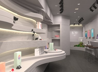 燕窝专卖店设计 燕窝商业空间设计 燕窝零售空间设计