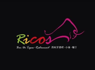 Ricos西班牙餐厅品牌形象