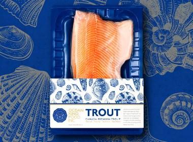 MOOMAD魔美设计|Ocean King·海洋食品品牌视觉设计