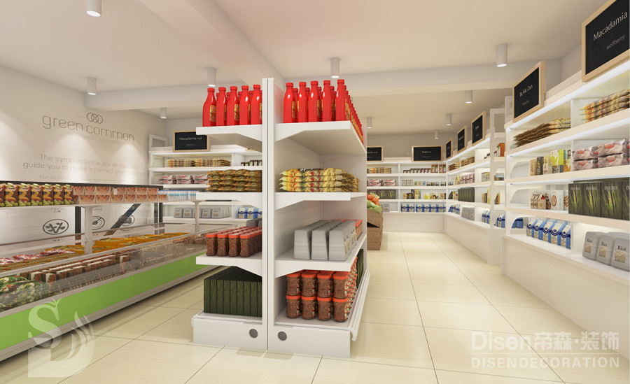 【1 1超市】-常州专业店铺设计|常州专业店铺装修