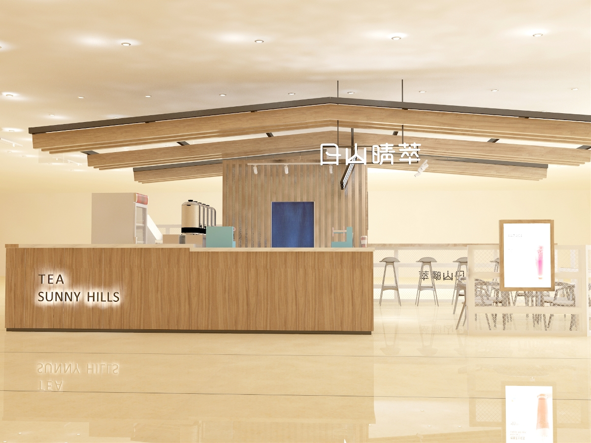 日山晴萃茶饮空间设计 | 商业空间设计
