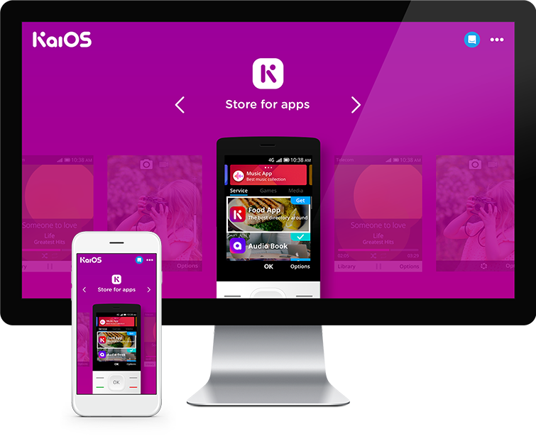 Flow Asia为KaiOS提供网页设计与网站建设
