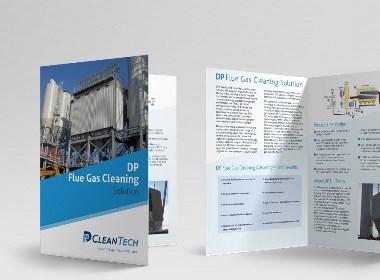 Flow Asia为DP CleanTech提供网站建设和VI设计服务