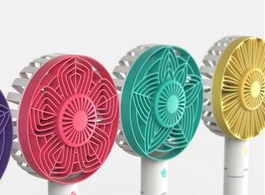 彩色缤纷的风扇设计
