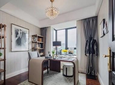 郑州亚星观邸210平四居室新古典风格装修案例欣赏
