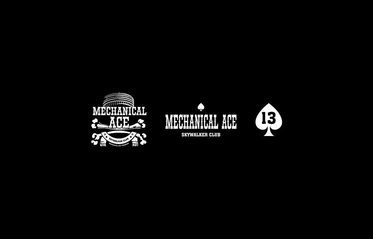 MOOMAD魔美设计 Mechanical Ace·摩托车俱乐部视觉设计