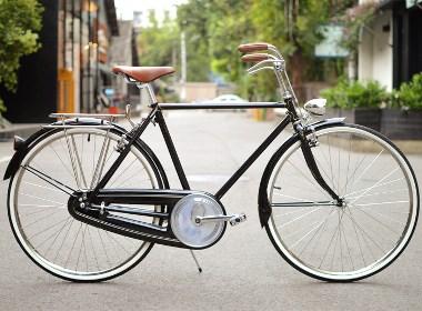 largestone英伦复古自行车