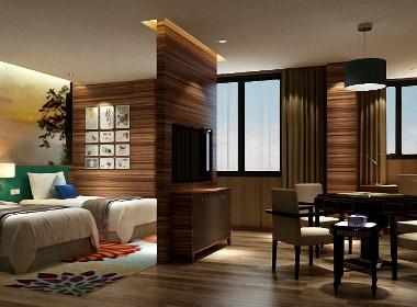 恩施铂尔曼艺术酒店装修设计效果图-贵阳专业酒店装修设计