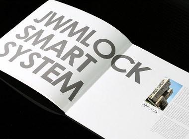 劲卫指纹锁画册设计