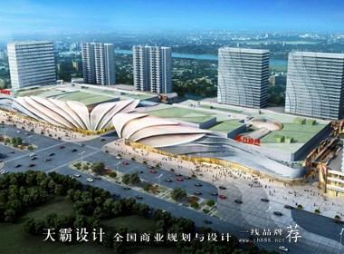 上海青浦万达茂VS周口淮阳天鸿世贸广场:荷花设计主题的不同之美