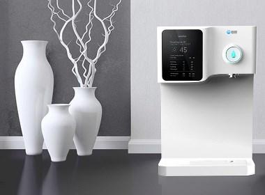 一款造福企业的内置式监控饮水机设计,德腾工业设计