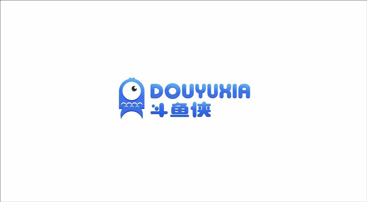 卡通logo设计斗鱼侠网游