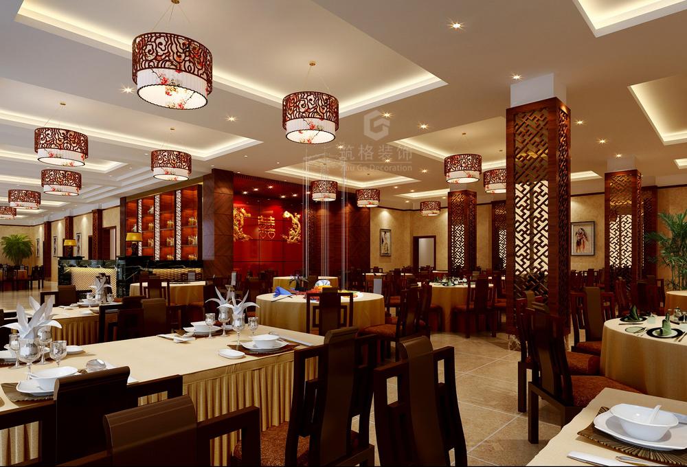 万豪酒楼丨贵阳中餐厅装修设计公司丨筑格装饰