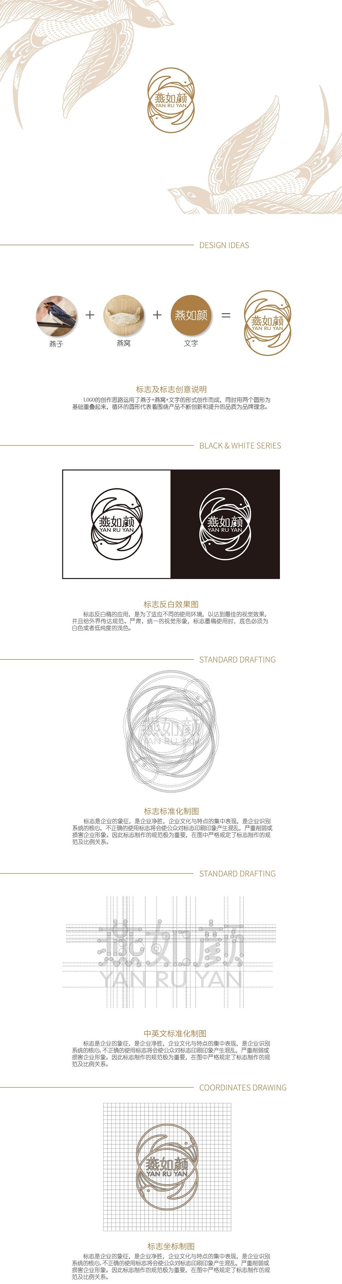 燕如颜-燕窝品牌形象设计