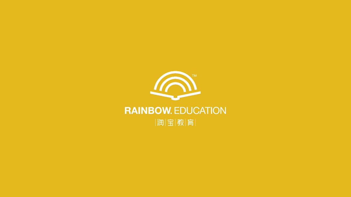 RAINBOW(彩虹)品牌logo设计