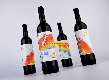 甘肅張掖紅橋葡萄莊園品牌重塑及紅酒產品包裝