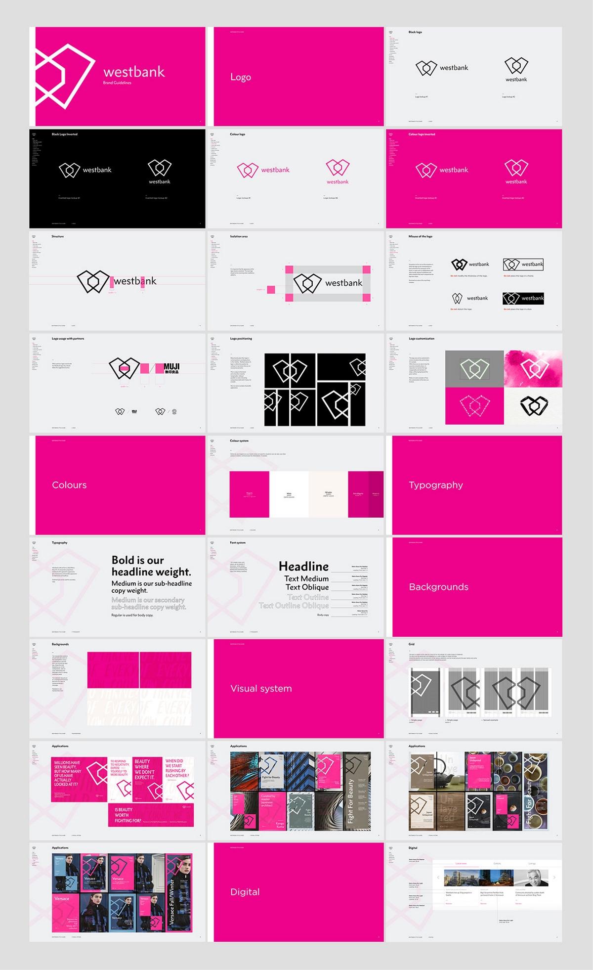 房地产企业Westbank品牌形象设计