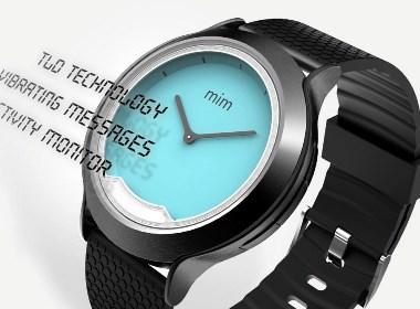 隐形显示屏的手表