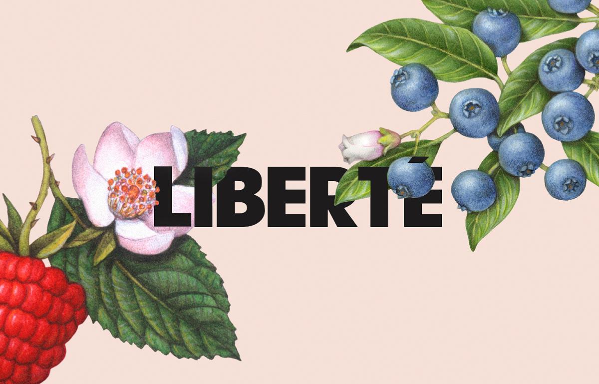 L I B E R T É_Organic包装设计