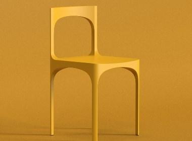 一体成型椅产品设计欣赏