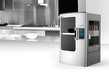 有了这台炒菜机器人,低效劣质是不存在的-德腾工业设计