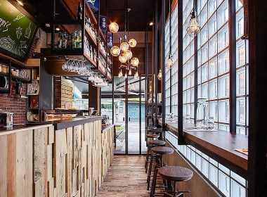新中式风格酒店设计 水木源创工业风酒店设计案例