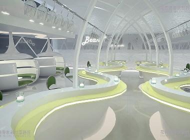 上海 阎媛-豆荚餐厅   花万里餐厅设计