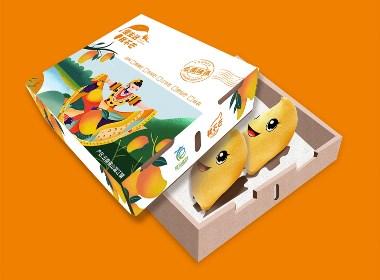 我不芒-云南地域芒果品牌包装设计