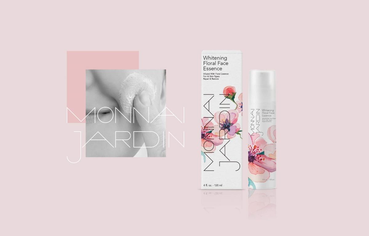 MOOMAD魔美设计|MONNAI JARDIN · 化妆品品牌视觉设计