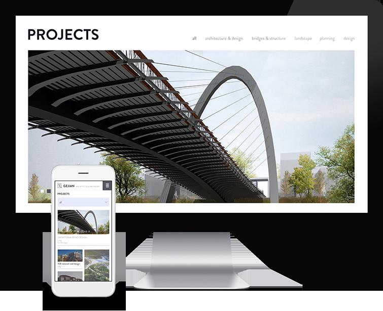 Flow Asia为戈建事务所提供网页设计服务