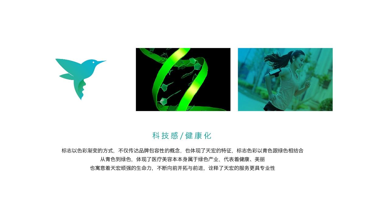 济南天宏整形品牌设计 | 商业品牌设计