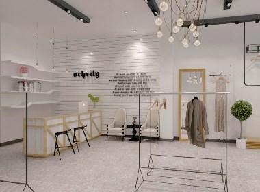 贵阳服装店装修设计公司—筑格装饰