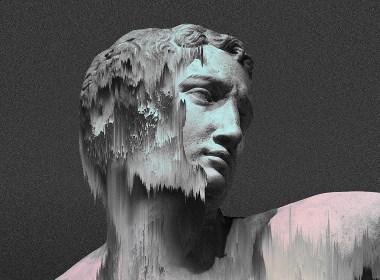 迷幻风雕塑画像