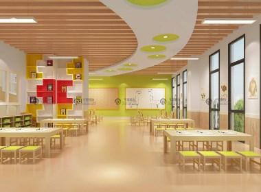 华德幼儿园设计装修之特色幼教空间设计风格案例