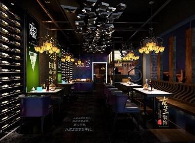 小酒馆设计,成都专业酒吧设计,成都专业酒吧装修【月色酒馆】