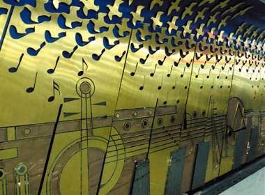 苏州轨道交通1号线壁画设计