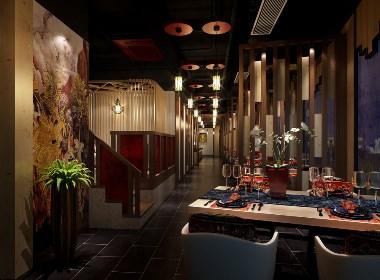 成都主题餐厅装修-东南亚